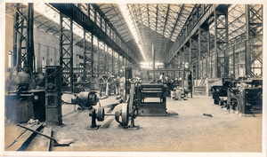 Image of Photograph of the Machine Shop in Angus Mill, Calcutta DUNIH 2018.16.2.9