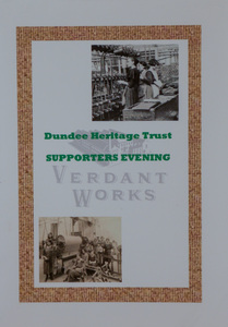 Image of Invitation to Supporters Evening at Verdant Works DUNIH 2018.20.1