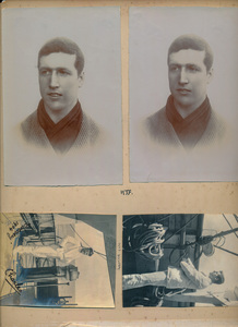 Image of Page of Scrapbook taken from Hartley Ferrar's family album DUNIH 2018.24.25.1
