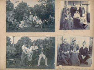 Image of Page of Scrapbook taken from Hartley Ferrar's family album DUNIH 2018.24.25.3