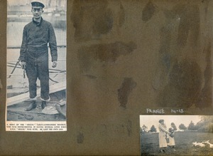 Image of Page of Scrapbook taken from Hartley Ferrar's family album DUNIH 2018.24.25.6