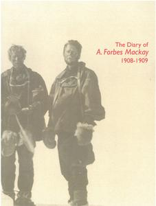 Image of The Diary A Forbes MacKay. DUNIH 2018.32.2