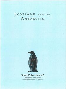 Image of Booklet: Scotia and William Spiers Bruce's Scottish National Antartic Expedition. DUNIH 2018.32.3