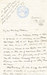 Letter from William Colbeck to Edith Robinson thumbnail DUNIH 1.011