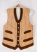 Embroidered jute waistcoat thumbnail DUNIH 2017.32