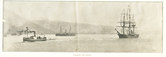 Image of Newspaper clippings re. Morning leaving Christchurch DUNIH 1.044