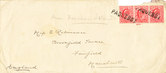 Image of Envelope containing letters sent to Edith Robinson DUNIH 1.081