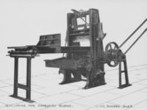 Image of Guillotine for parquetry blocks, ULRO No. 43. DUNIH 194.25