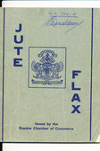 Image of Booklet, entitled 'Jute, Flax' DUNIH 61.17
