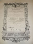 Image of Certificate for Art Instruction DUNIH 455.5