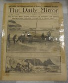 Image of Newspaper, The Daily Mirror, 5th December 1916 DUNIH 2014.22