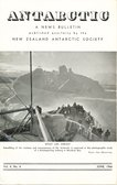 Image of Antarctic, news bulletin published by New Zealand Antarctic Society DUNIH 2016.30.42