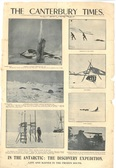 Image of Newspaper cutting showing different images of the Antarctic Expedition 1901-4 DUNIH 2016.30.44.1
