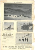 Image of Newspaper cutting showing different images of the Antarctic Expedition 1901-4 DUNIH 2016.30.44.3