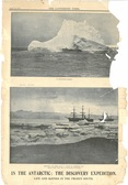 Image of Newspaper cutting showing different images of the Antarctic Expedition 1901-4 DUNIH 2016.30.44.4