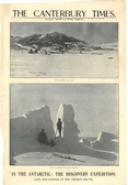 Image of Newspaper cutting showing different images of the Antarctic Expedition 1901-4 DUNIH 2016.30.44.5