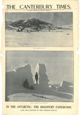 Image of Newspaper cutting showing different images of the Antarctic Expedition 1901-4 DUNIH 2016.30.44.6
