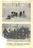 Image of Newspaper cutting showing different images of the Antarctic Expedition 1901-4 DUNIH 2016.30.44.10