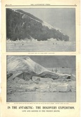 Image of Newspaper cutting showing different images of the Antarctic Expedition 1901-4 DUNIH 2016.30.44.11