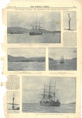 Image of Newspaper cutting relating to the departure of Discovery from Lyttelton DUNIH 2016.30.45.4