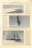 Image of Newspaper cutting showing different images of the Antarctic expedition 1901-4 DUNIH 2016.30.45.11