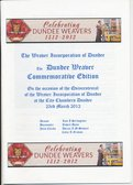 Image of 500th Anniversary of the Dundee Weaver Craft Booklet DUNIH 2016.13.1