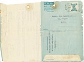 Image of Letter from Hukumchand Jute Mills Ld. to J. Cargill Ltd., 13th March 1947 DUNIH 2016.11.90