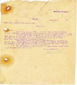 Image of Letter to Hukumchand Jute Mills Ltd., 24th March 1947 DUNIH 2016.11.94