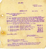 Image of Letter from J. Cargill Ltd. to Hukumchand Jute Mills Ltd., 13th March 1947 DUNIH 2016.11.96