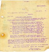 Image of Letter from J. Cargill Ltd. to Hukumchand Jute Mills Ltd., 19th March 1947 DUNIH 2016.11.100