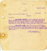 Image of Letter from J. Cargill Ltd. to Hukumchand Jute Mills Ltd., 19th March 1947 DUNIH 2016.11.101
