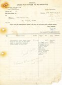 Image of Letter from Hukumchand Jute Mills Ltd. to J. Cargill Ld., 10th February 1947 DUNIH 2016.11.102