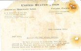 Image of Letter from United States Lines, 15th November 1946 DUNIH 2016.11.109