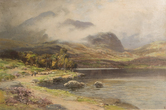 Image of Oil painting of Scottish Landscape by Charles Phillips DUNIH 2017.6