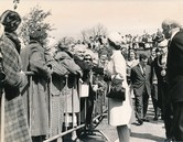 Image of Photograph of the Queen meeting the crowds, May 1969 DUNIH 2017.16.2.6