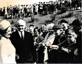 Image of Photograph of the Queen meeting the crowds, May 1969 DUNIH 2017.16.2.7