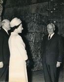 Image of Photograph of the Queen and William Duncan, May 1969 DUNIH 2017.16.2.9