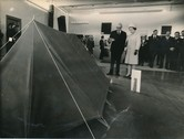 Image of Photograph of the Queen presented with a tent, May 1969 DUNIH 2017.16.2.31