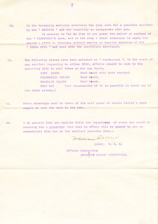Instructions in case of Terra Nova & Morning seperation DUNIH 1.031