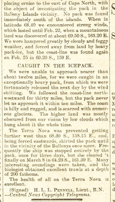 Terra Nova's return DUNIH 1.056