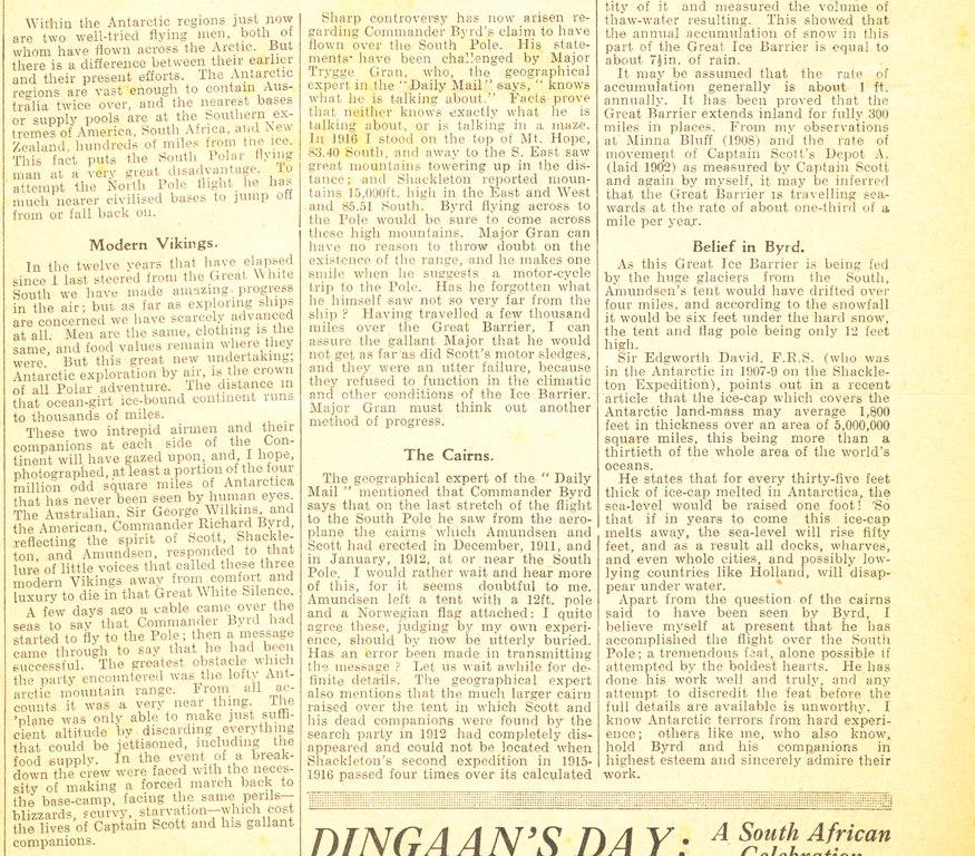 Article re. Ernest Joyce's polar memories DUNIH 1.328