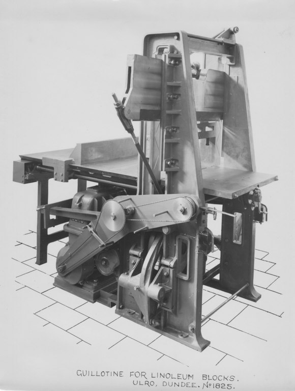 ULRO - Guillotine for linoleum blocks DUNIH 393.23