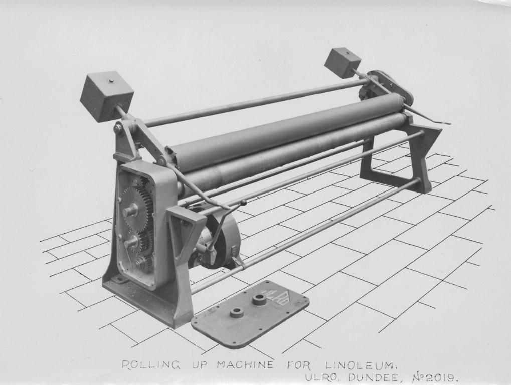 ULRO - Rolling up machine for Linoleum DUNIH 393.81