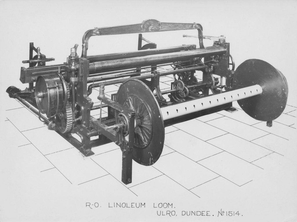 ULRO - R.O. Linoleum Loom DUNIH 394.105
