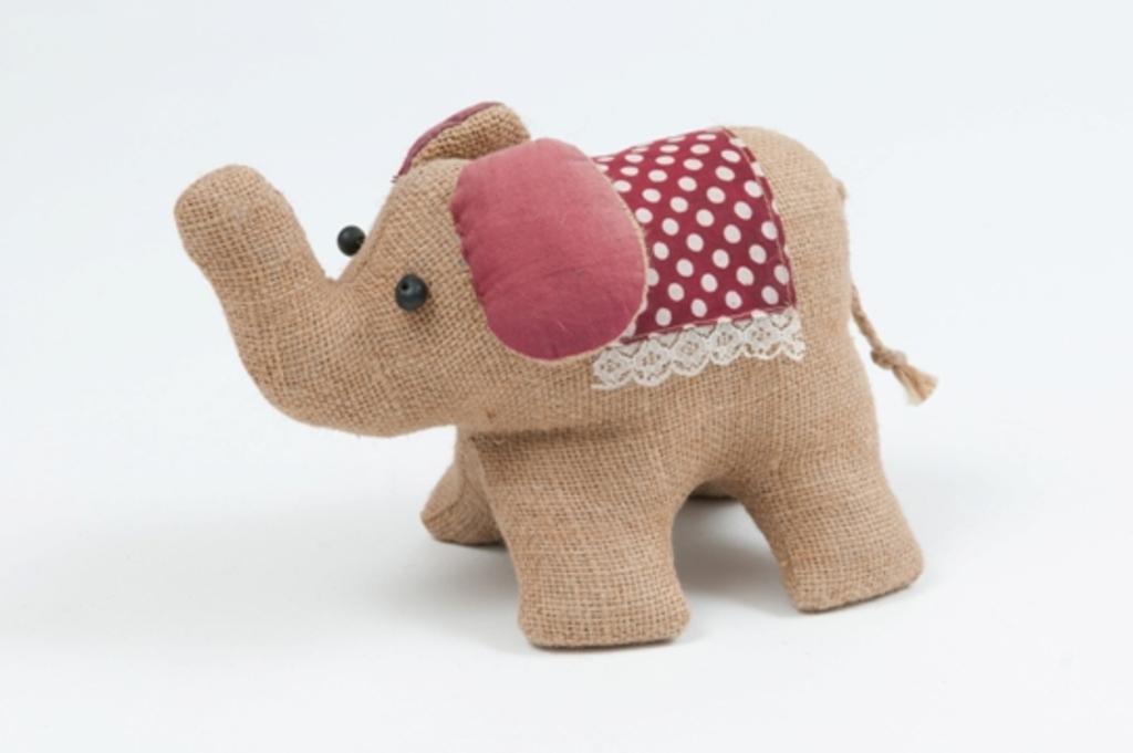 Jute Toy Elephant DUNIH 2013.17