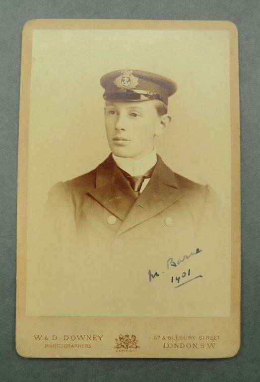 Portrait, Lt. Michael Barne. BAR.2