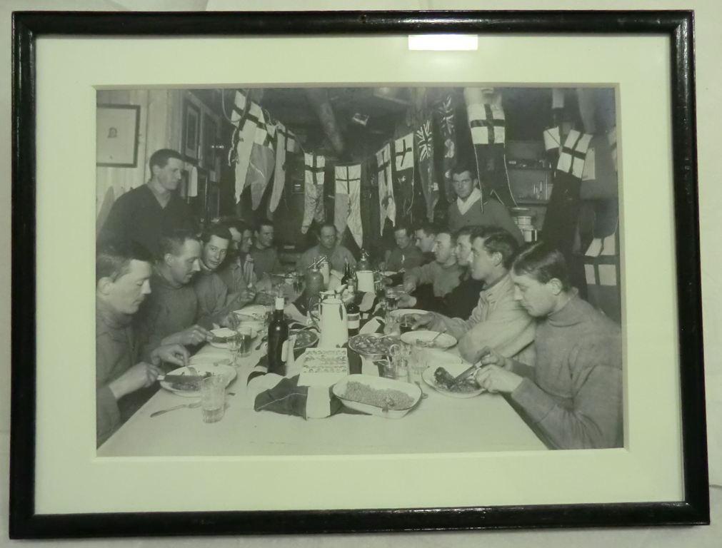 Officers & Crew, Terra Nova, Scott's birthday dinner BER.2