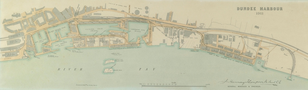 Dundee Harbour 1911 DUNIH 50