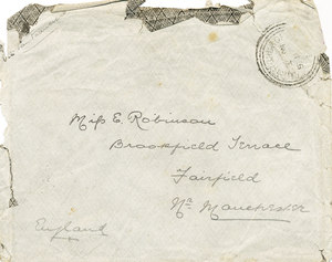 Image of Envelope containing William Colbeck letters DUNIH 1.008