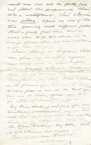 Image of Letter from William Colbeck to Edith Robinson DUNIH 1.009